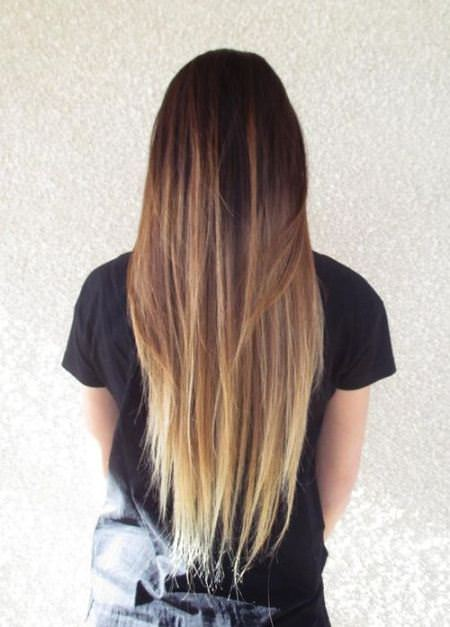 mostly blond trendy brown ombre hair ideas