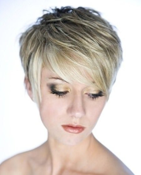 new feather short haircuts for fine hair