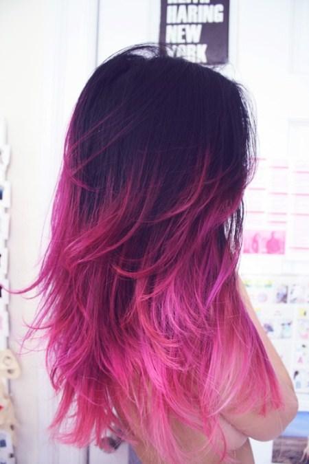 pastel ombre trendy pastel hair color