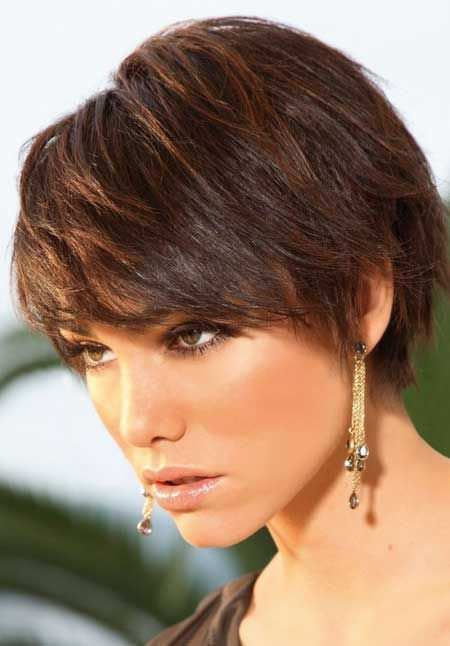 Perfect bruttene short hairstyles for thick hair