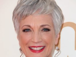 Rounded and full shorter haircut for women over 50