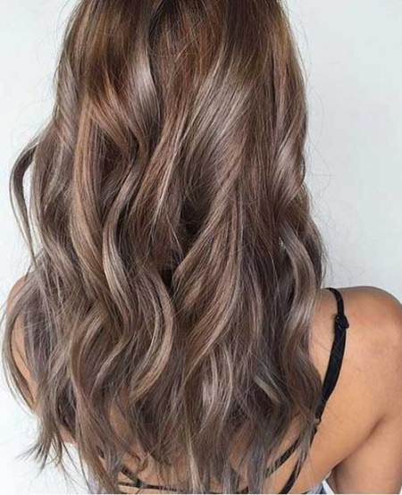 Seamless blonde ombre hair ash blonde and silver ombre