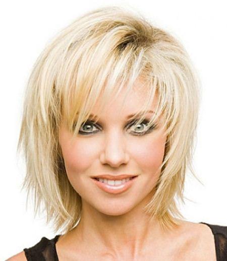shag for thin hair modern shag haircut
