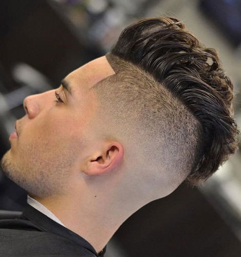 Skin fade fauxhawk haircuts for men