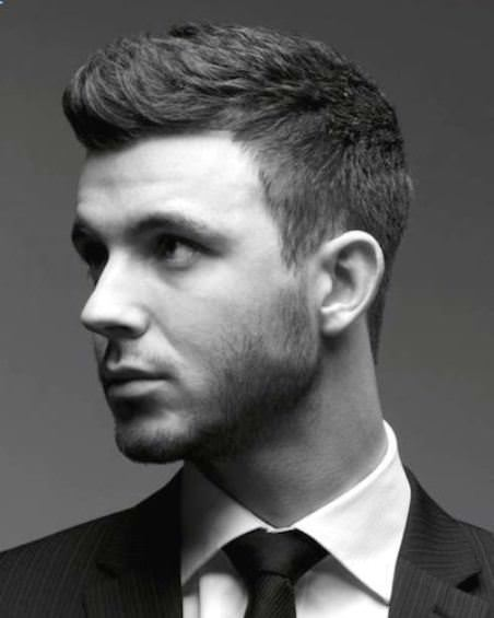 Smooth fauxhawk haircuts for men
