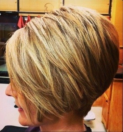 Soft and flowby bob short hairstyles for thick hair