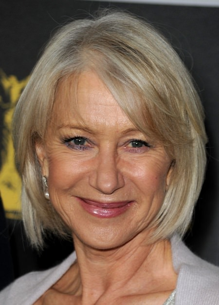 Stacked bob haircuts for women over 50