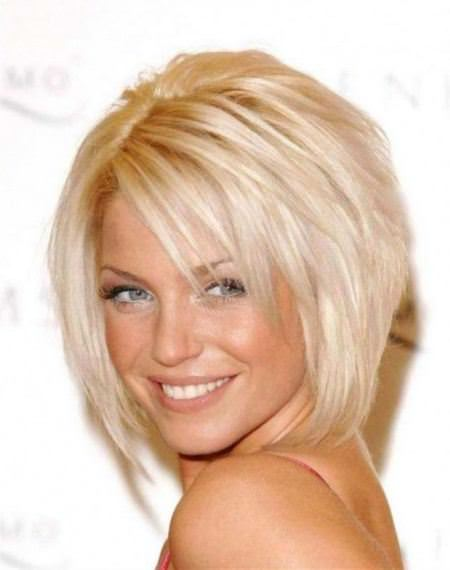 stacked bob short haircuts for fine hair