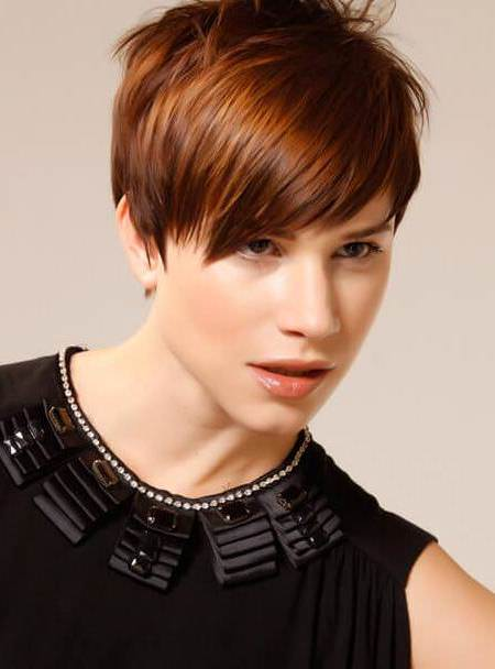 The piecey pixie short hairstyles for thick hair