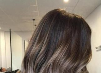 ash blonde with brown balayage ash blonde and silver ombre