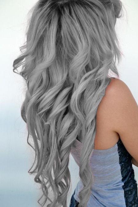 ash gray colors to dye hair