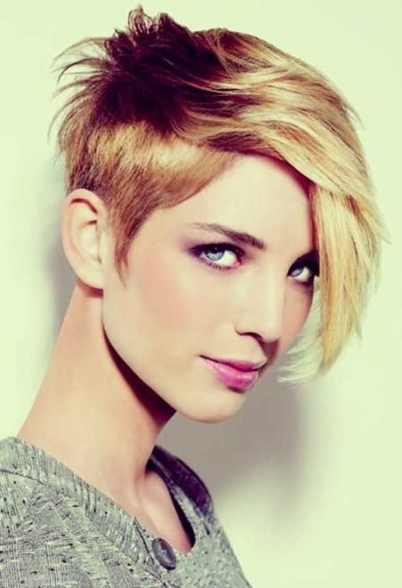 asymmetric pixie haircuts for thick hair