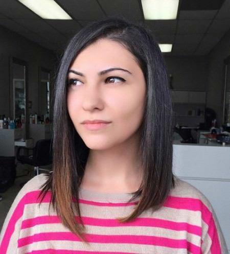asymmetrical bob medium length haircuts