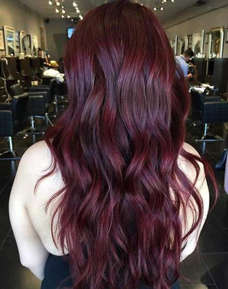 aubergine colors to dye hair