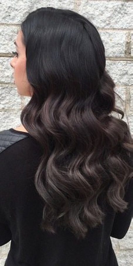back to black ombre ash blonde and silver ombre