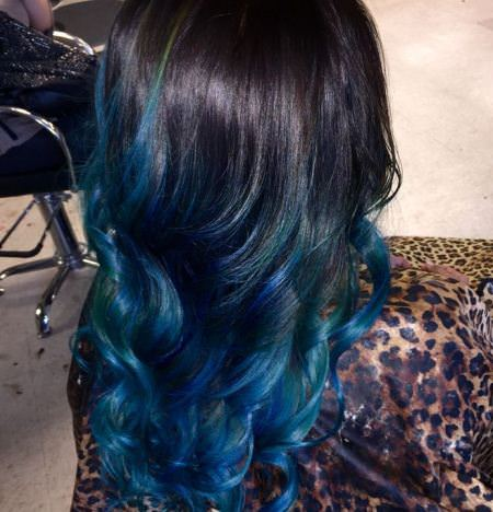 Blue highlights brown hair brown hairs black hair with blue highlights hair color ideas for chunky highlights pmusecretfo Choice Image