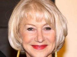 blonde bob with bangs hairstyles for older women
