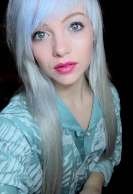 blue pastel trendy pastel hair color