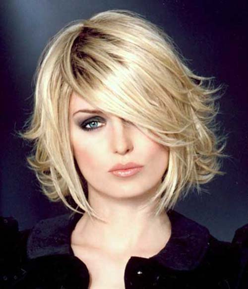 Layered Bob Hairstyles For Fine Thin Hair 26