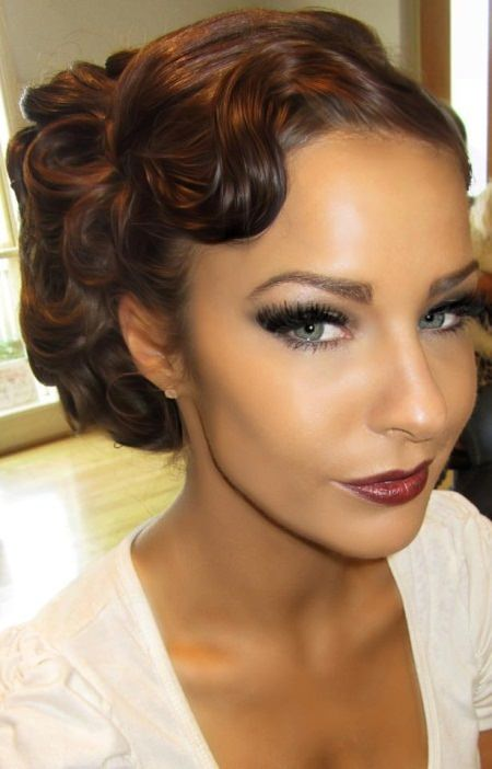 makeup styles for hair 20 gorgeous black wedding hairstyles 7254