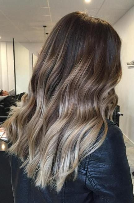 20 Ideas For Ash Blonde And Silver Ombre